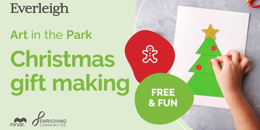 Free 'Art in the Park' Workshops - Christmas Decorations