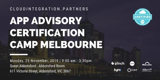 Melbourne CI Partners 2019 Intro to App Advisory Certification Camp