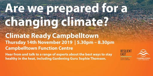 Climate Ready Campbelltown Forum
