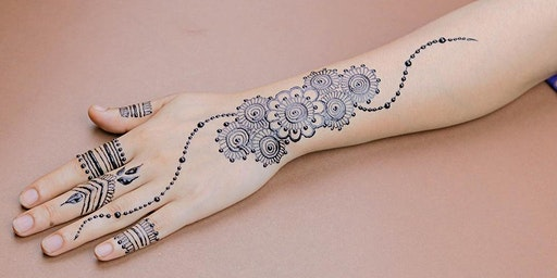 Henna Tattoos School Holiday Program at Tuggerah Library