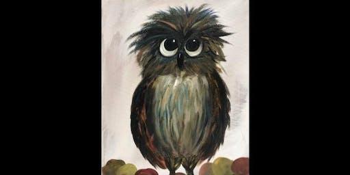 Paint'N Pajamas...Hootin' Owl
