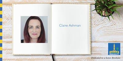 Meet Claire Ashman - Bracken Ridge Library