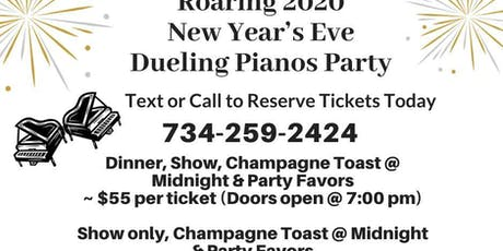 New Year's Eve Roaring 2020 Dueling Pianos Party tickets