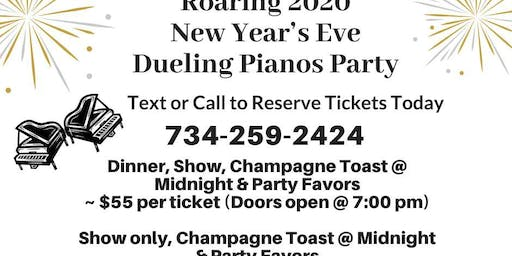 New Year's Eve Roaring 2020 Dueling Pianos Party