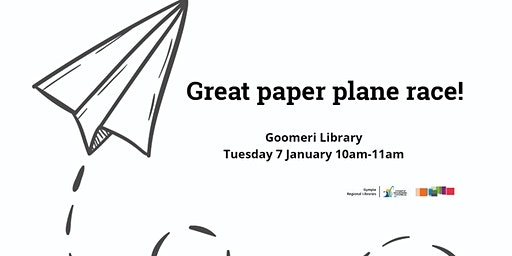 Great paper plane race!