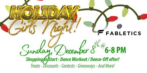FREE Holiday Girls Night @Fabletics Legacy West