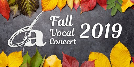 Douglas Anderson's Fall Vocal Concert 2019