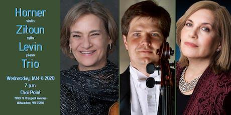 Horner, Zitoun, Levin Trio at Chai Point tickets
