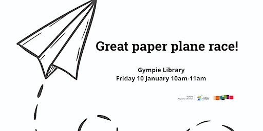 Great paper plane race! Gympie Library
