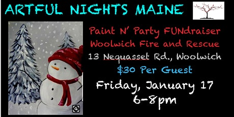 Paint N' Party FUNdraiser for Woolwich Fire Department and Rescue tickets