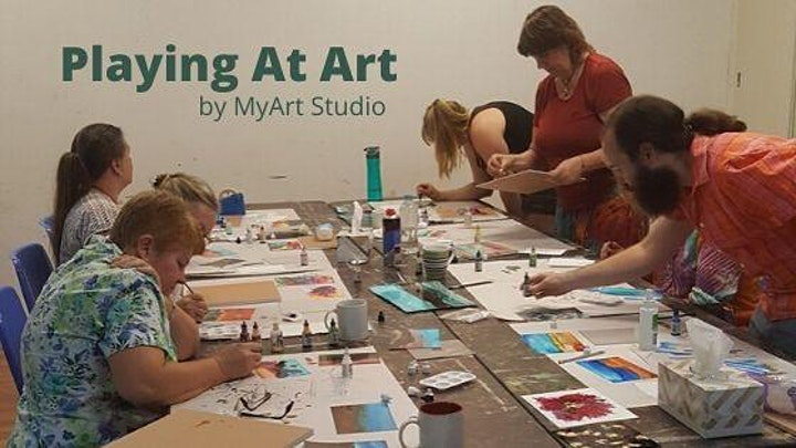 Playing at  Art - Pencil Allsorts (3hrs) image