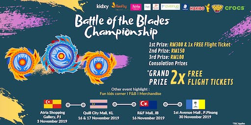 Battle of the Blades Championship - Quill City Mall, KL