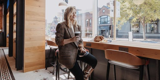 The Business of Blogging & My Personal Story: Discussion and Q&A With Local Fashion & Lifestyle Influencer, Natalie Pinto of The Fashionably Broke, at the New Capital One Cafe in Georgetown
