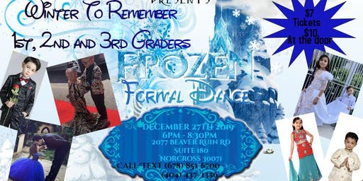 Winter to Remember 1st, 2nd, 3rd Grade Frozen Formal Dance