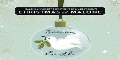 Christmas at Malone - Saturday, December 7