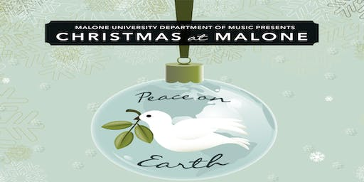 Christmas at Malone - Saturday, December 7