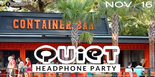 Container Bar CHS Quiet Headphone Party