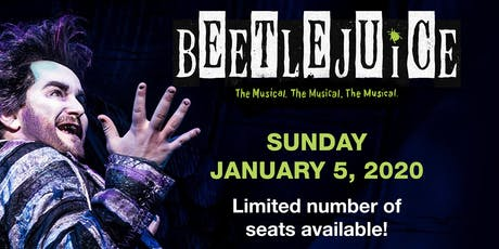 Man In Motion Goes To Broadway: BEETLEJUICE! tickets