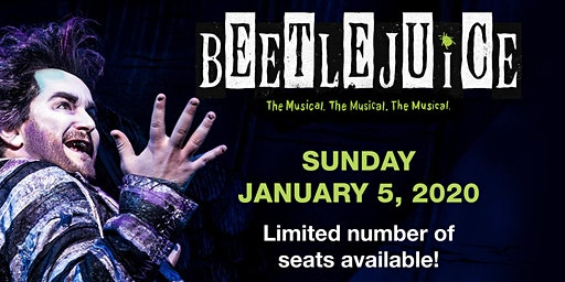 Man In Motion Goes To Broadway: BEETLEJUICE!