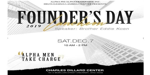 "113th Founders' Day: ""Alpha Men Take Charge"""