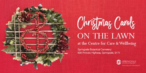 CHRISTMAS CAROLS ON THE LAWN - Bookings Essential