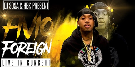 Fivio Foreign Live In Concert tickets