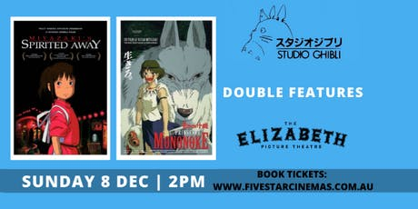 Studio Ghibli Double Feature - Spirited Away + Princess Mononoke tickets