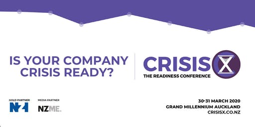 CrisisX: The Readiness Conference 2020