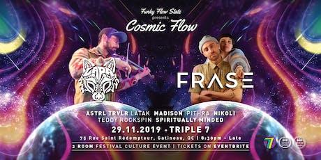 Cosmic Flow ft Lapa of Emancipator, Frase ft EMbody MVMT, Sonic Yoga & more tickets