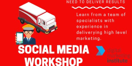 Social media workshop: How to make money online tickets