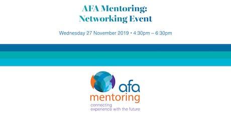AFA Mentoring event tickets