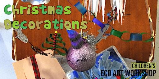 Christmas Decorations : Children's Eco-Art Workshop