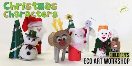Christmas Characters: Children's Eco-Art Workshop tickets