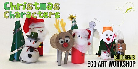 Christmas Characters: Children's Eco-Art Workshop tickets
