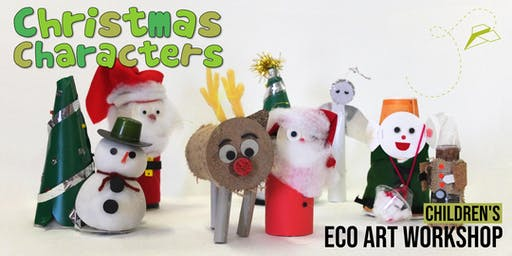 Christmas Characters: Children's Eco-Art Workshop