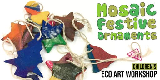 Mosaic Festive Ornaments: Children's Eco-Art Workshop