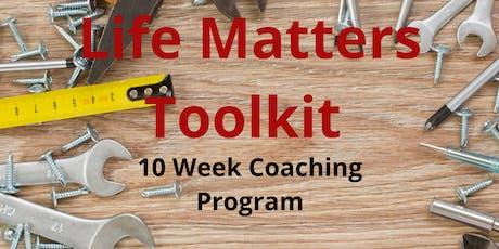 Amanda Lee - Life Matters Toolkit Program tickets