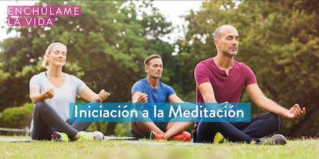 Iniciación a la Meditación tickets