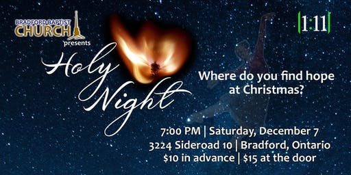 Holy Night Christmas Ballet by 1:11 Ministries