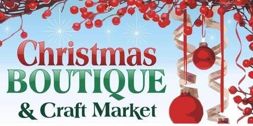 Christmas Boutique and Craft Market 12/7 from 10-2