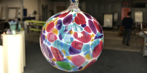 Blow your own Glass Christmas Ornament