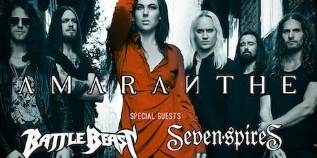 Amaranthe, Battle Beast, Seven Spires tickets