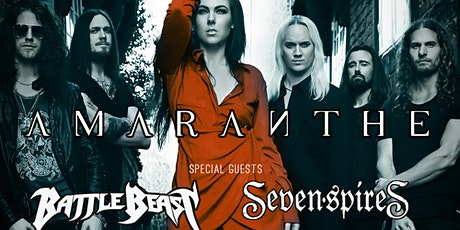 Amaranthe, Battle Beast, Seven Spires tickets