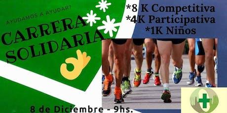 Varela Solidaria Corre por la Salud 8k y 4k entradas