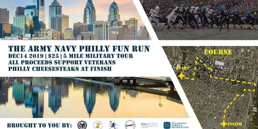 The Army-Navy Philly Fun Run