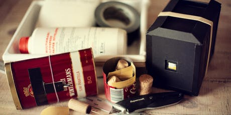 Pinhole Photography-make your own camera tickets