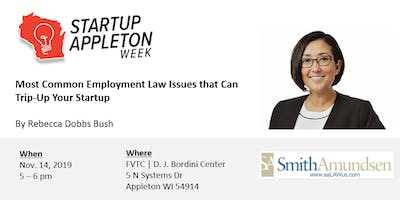 Most Common Employment Law Issues that Can Trip-Up Your Startup