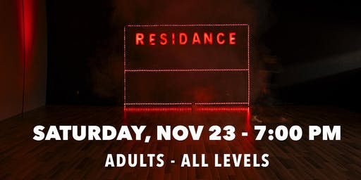 11/23 Urban Dance Class | Adults - All levels | By RESIDANCE