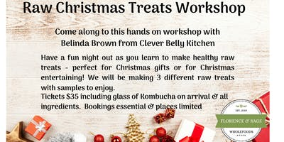 Raw Christmas Treats Workshop