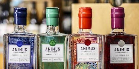 Animus Gin Masterclass tickets